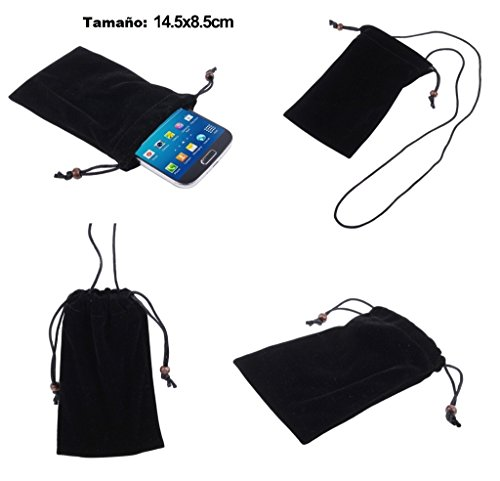 dfv-mobile-case-cover-soft-cloth-flannel-carry-bag-with-chain-and-loop-closure-for-motorola-droid-ra