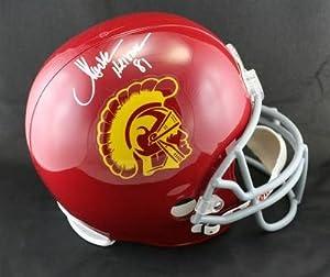 Marcus Allen SIGNED USC Trojans F S Helmet + Heisman 81 ITP AUTOGRAPHED - PSA DNA... by Sports+Memorabilia