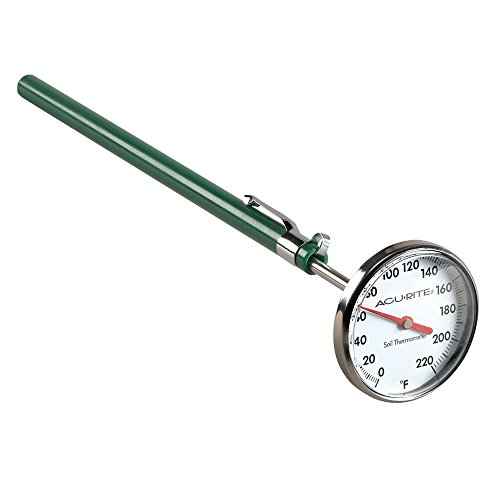 acurite 00661 stainless steel soil thermometer