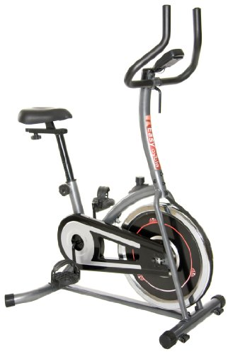 Body Champ BF620 Indoor Cycle Trainer w/ Fluidity Flywheel