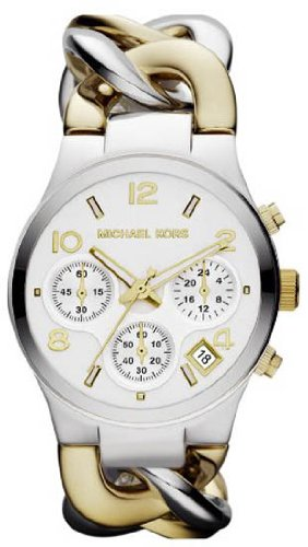 Michael Kors Twist Chain Chronograph White Dial