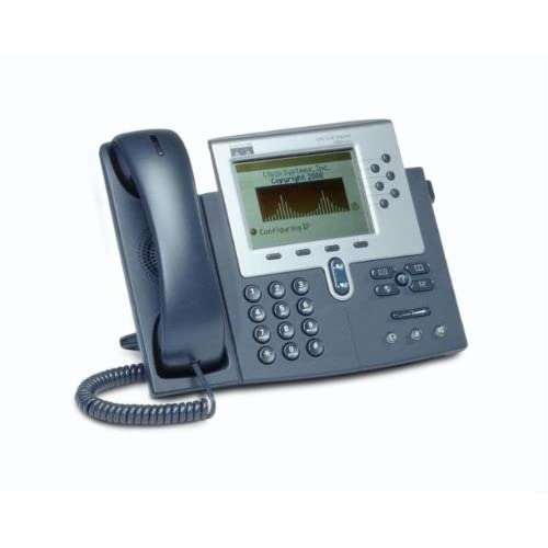 T�l�phone par VOIP CISCO7962GNOIR ARGENT