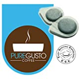 PureGusto - Continental Intenso ESE Coffee Pods (100)by PureGusto