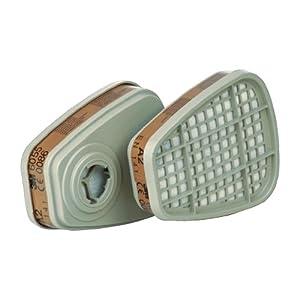 3M 6055 A2 Filter für Masken der Serie 6000/7000/7500