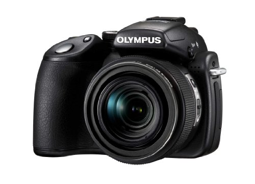 Olympus SP-570UZ Compact Digital Camera - Black ( 10.1 MP, 20x Optical Zoom) 2.7