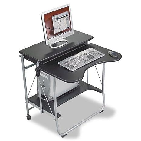 BALT 89811 - Fold-N-Go Workstation, 27-1/2w x 29-1/2d x 29-1/2h, Black/Silver
