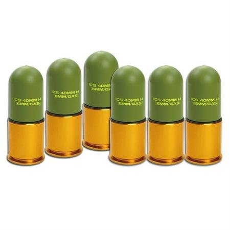 ICS Lightweight 40MM Grenade Launcher GLM Grenade Shell Set
