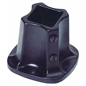 Floor flange rail 1 1 4in blk faucet flanges for 1 black floor flange