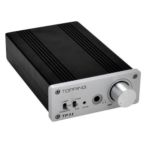 Topping デジタルアンプ+DAC+ヘッドフォンアンプ Tripath TA2024を採用 [TP31]