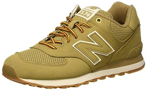 New Balance Men's 574 Outdoor Boot Sneakers, Linseed, 9.5 D US