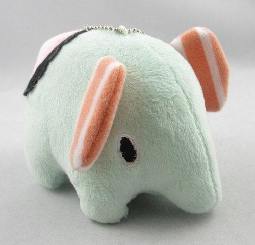 "Cute Elephant Plush Toy Bag Charm Adorable San-x Sentimental Circus Doll Gift 4"""