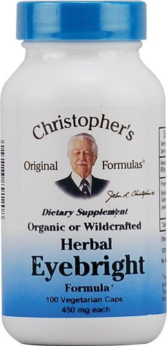 Dr. Christopher'S: Herbal Eyebright, 100 Caps (2 Pack)