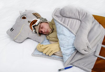 Star Wars Tauntaun Full Size Sleeping Bag!