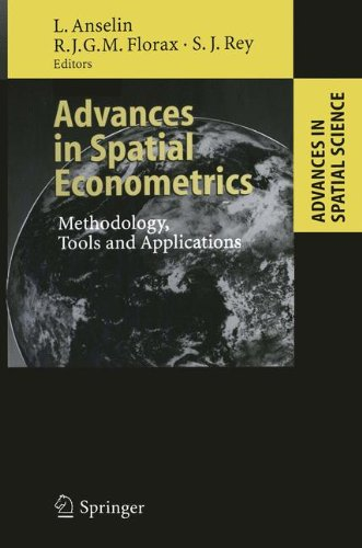 Advances in Spatial Econometrics: Methodology, Tools and Applications (Advances in Spatial Science)