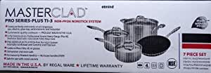 MasterClad 11 Pc Cookware Set Pro Series Plus Regal Ware Commercial