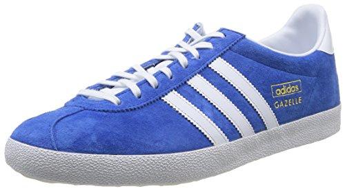 Adidas Gazelle OG - Sneakers, Unisex Adulto, colore Blu (Air Force Blue/White/Metallic Gold), taglia 40 2/3