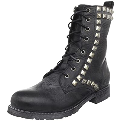 FRYE Women's Rogan Studded Lace Tall Boot