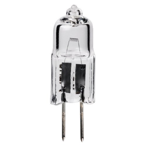 15 Watt Halogen Light Bulb - T2.75 - G4 Base - Clear - 2,000 Life Hours - 220 Lumens - 6 Volt - Plt
