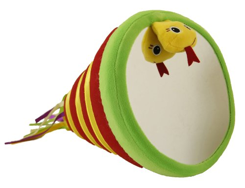 Giggle Toys Rattles Tummy Time Toy, Western Red
