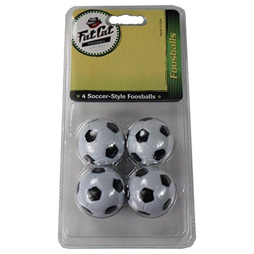 Fat-Cat-FoosballSoccer-Game-Table-Soccer-Balls-36-mm-Regulation-Size-Foosballs-BlackWhite-4-Pack