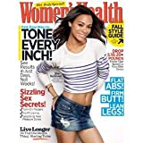 Women's Health Magazine - Zoe Saldana on Cover - Tone Every Inch - Hot Body Issue (September, 2011)