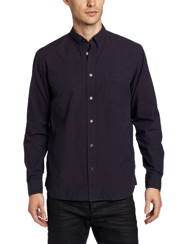 Fred Perry Men's Overdyed Gingham Shirt