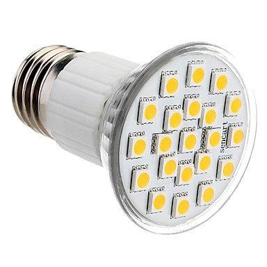M.M E27 3.5W 21X5050Smd 140-150Lm 2800-3200K Warm White Light Led Spot Bulb (230V)