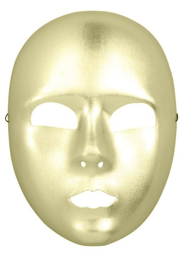1/2 Mask Full Face Gold - 1