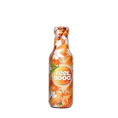 Feel Good Iced Tea - Peach Black Tea 0,5L PET (12er Tray) von Feel Good bei Gewürze Shop