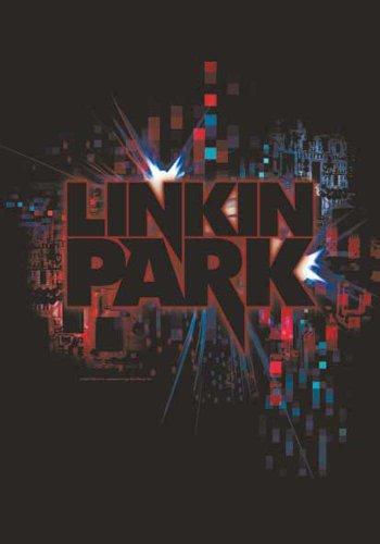 Linkin Park Bandiera-Short cicuit-Bandiera Poster 100% poliestere Dimensioni 75x 110cm