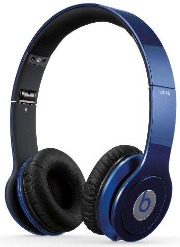 Beats Solo Bt On Solohd Mbl Hd Over Ear Headphone, Metallic Blue