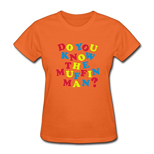 Ruifeng Women'S Do Know Muffin Man T-Shirt