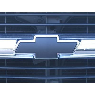 Chevrolet Tahoe 95-00 96 97 98 99 : Matte (Flat) Black Bowtie Emblem