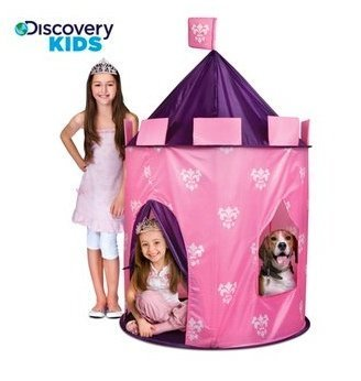 Discovery Kids Indoor/Outdoor Princess Play Castle By Discovery Kids front-628029