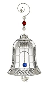Waterford ® Crystal Twelve Days Ornament, 4th in Series, Four Calling Birds