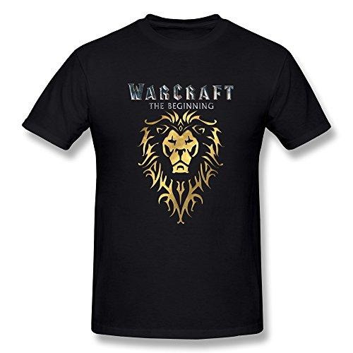 yvonneart-mens-alliance-lion-sign-warcraft-the-beginning-t-shirts-black-large
