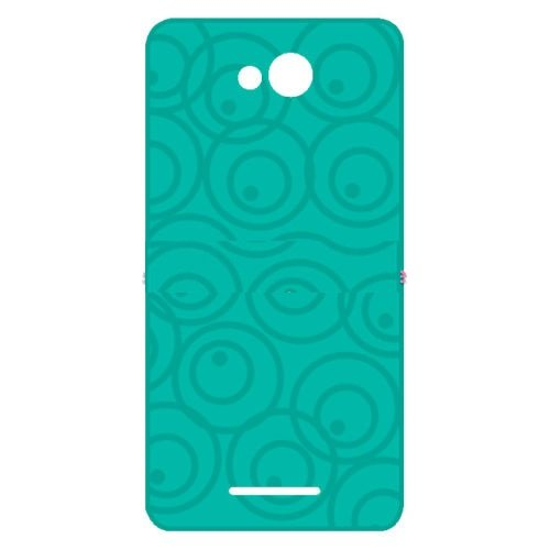 Panasonic Eluga A Exclusive Textured Soft Back Case Cover Back Cover by ECellStreet - Green
