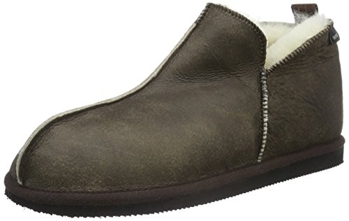 ShepherdAnton - Pantofole uomo , Marrone (Oiled Antique), 42