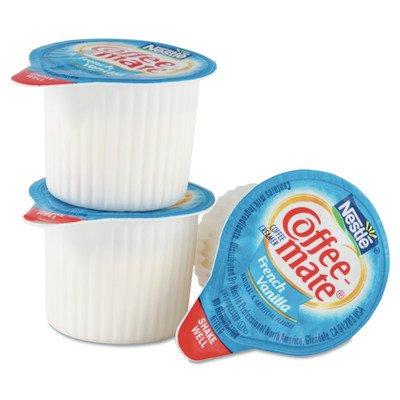 French Vanilla Flavor Liquid Coffee Creamer Cups (Box Of 50)