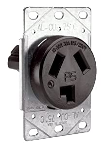 Pass Seymour 3860cc6 Flush Outlet 30 Amp