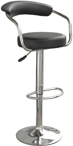 black-chrome-swivel-bar-kitchen-breakfast-stools-chair-060