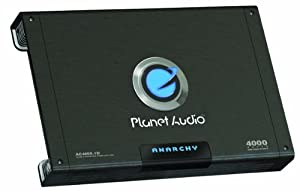Planet Audio AC4000.1D 4000-Watt Max Power Class D Monoblock Power Amplifier by Planet Audio