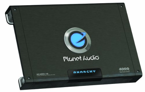 Planet Audio 4000-watt Amplifier
