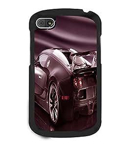 printtech Superfast car Back Case Cover for BlackBerry Q10