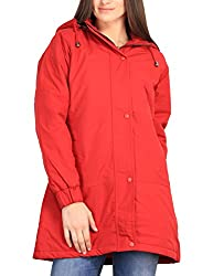 Duke Stardust Red Coloured Jacket Made From Nylon Synthatics