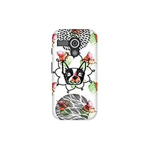 The Racoon Lean Pupcakes hard plastic printed back case / cover for Moto G (1st Gen)