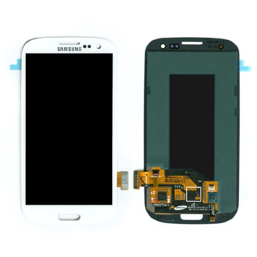 Samsung Galaxy S3 Digitizer Lcd Touch Screen Replacement Assembly / White