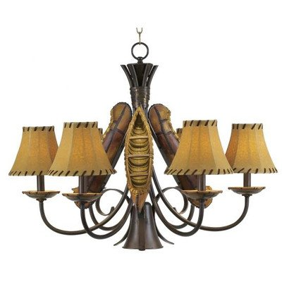 Pacific Coast Lighting Grand Old River Canoe Chandelier