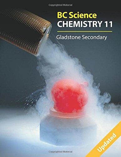 Bc Science Chemistry 11: Gladstone Secondary