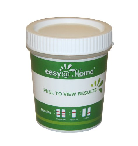 5, 10, 15, 25, 50 or 100 Pack #ECDOA-1144A3 Easy@home 14 panel Instant Drug Test Cup Testing 14 Different Drugs plus 3 adulterations and temperature strips. Tests Amphetamine (AMP), Barbiturates (BAR), Benzodiazepines (BZO), Cocaine (COC), Marijuana (THC), Methadone (MTD), Methamphetamine (MET), Methylenedioxymethamphetamine (MDMA), Opiate (OPI 2000), Phencyclidine (PCP), Tricyclic Antidepressants (TCA), Buprenorphine (BUP), Oxycodone (OXY), Propoxyphene (PPX)